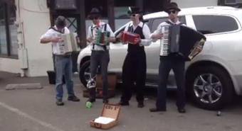 Accordion to Us At the Cotati Accordion Festival
