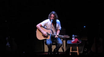 Chris Cornell captured performing Misery Chain at Nob Hill Masonic Center by Nurse Hh