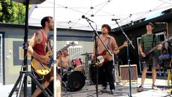 Semi Evolved Simians   live at Atlas Coffee Company's Grandest Reopening Party