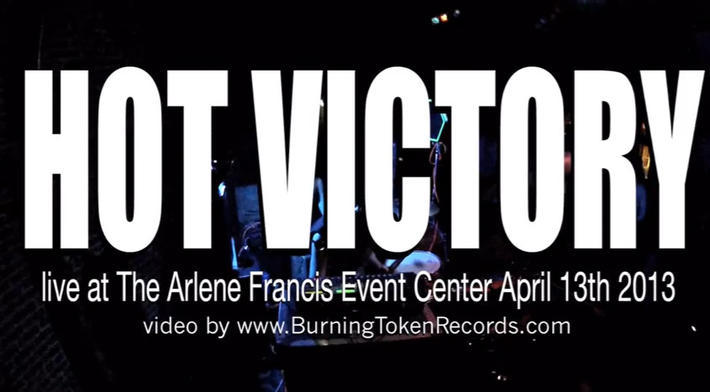 HOT VICTORY live at The Arlene Francis Center 04/13/13
