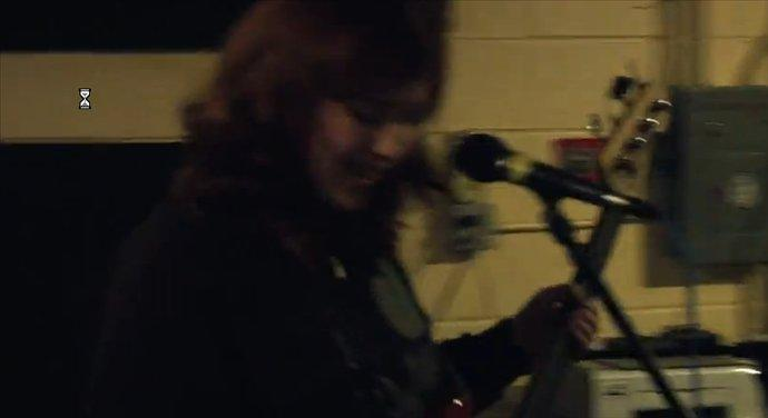 Sad Family playing Six Cups Of Coffee live at Atlas Studios 1/11/12