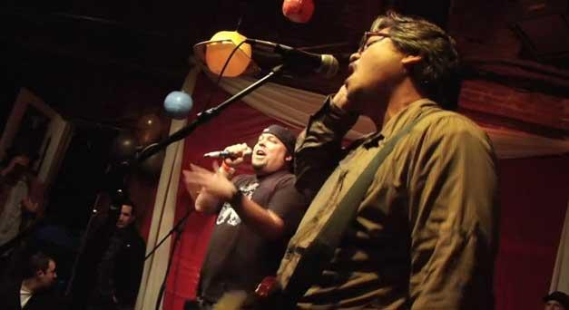 Safeword playing Ain't No Sunshine by Bill Withers live at The NorBay Awards 24-Hour Band contest July 14 2012