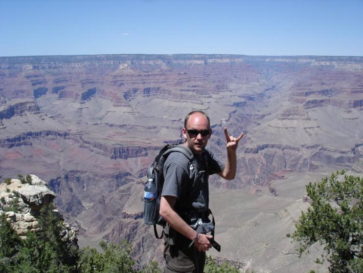 Kurtis Carter at the Grand Canyon
